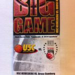 USC Heidelberg vs Brose Baskets ticket  September 2011