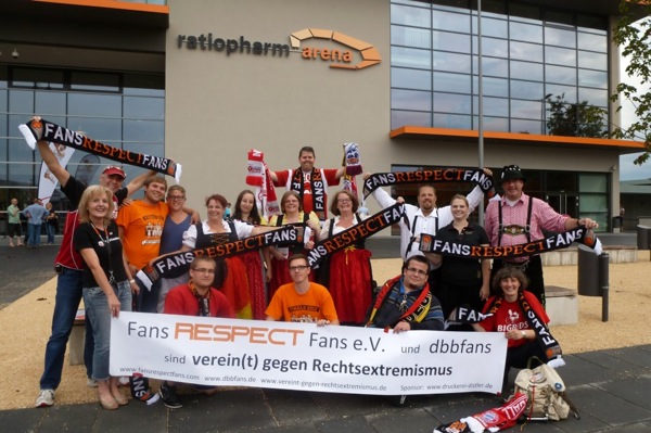 FansrespectFans Banner in Ulm2