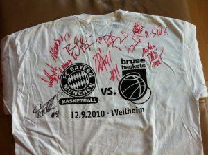 FC Bayern München und Brose Baskets Bamberg
